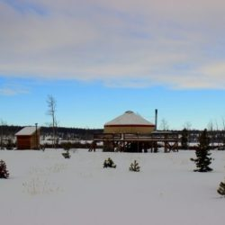 Out Of The Ordinary Winter Escapes in Colorado. Yurt trip