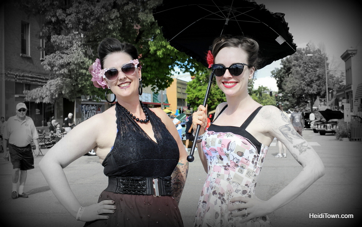 Tips For Creating A Successful Festival. Pin Up Contest Contestants at Hot Cars Cool Nights in Loveland, Colorado. HeidiTown.com
