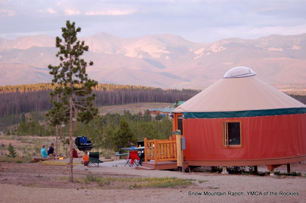 Girls Getaway in the Colorado Rocky Mountains. Yurts at Snow Mountain Ranch. HeidiTown.com