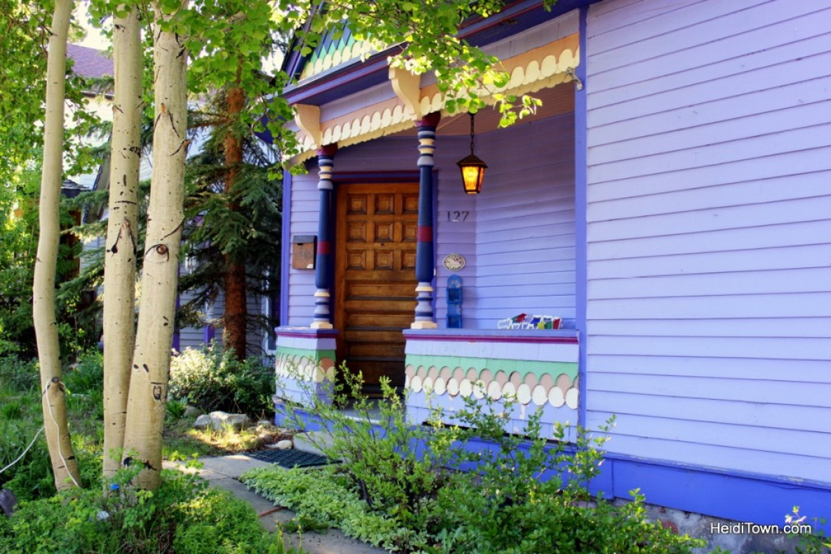 A stay at Colorado Trail House in Leadville. HeidiTown.com