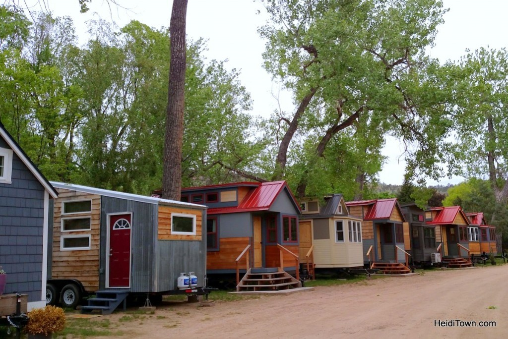 A stay at Colorado's only tiny home hotel. HeidiTown.com