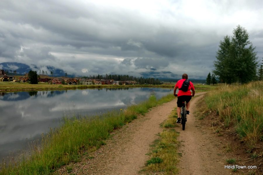 Making new traditions in the familiar town of Winter Park. Fraser River Trail. HeidiTown.com