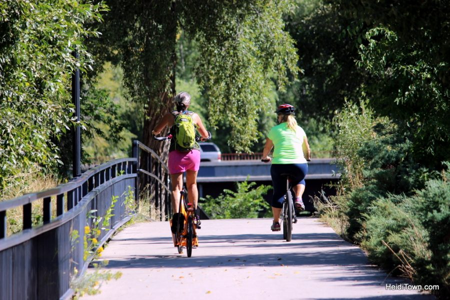 The Animas River Trail. Highlights of a weekend in Durango, Featured Festival San Juan Brewfest. HeidiTown.com