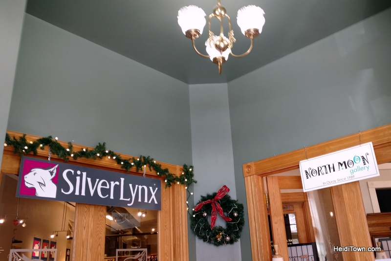 A Holiday Shopping Extravaganza in Ouray, Colorado. Silver Lynx & North Moon Gallery. HeidiTown.com