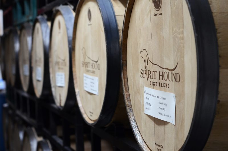 Whiskey, Lights, Pinball, photo provided by Spirit Hound Distillers. HeidiTown.com