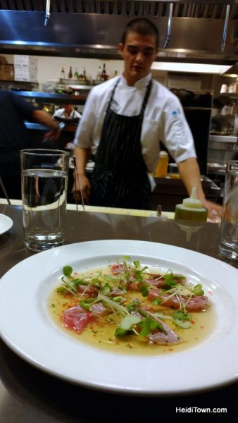 A Symphony of Food & Music on a Date Night in Denver, TAG Restaurant Hamachi