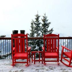 Finding the Real Aspen, HeidiTown.com. The deck at Sundeck Restaurant on Aspen Mountain