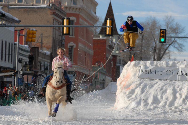 Three Awe-Inspiring Colorado Winter Festivals, Ski Joring Leadville by Lake County Tourism Panel