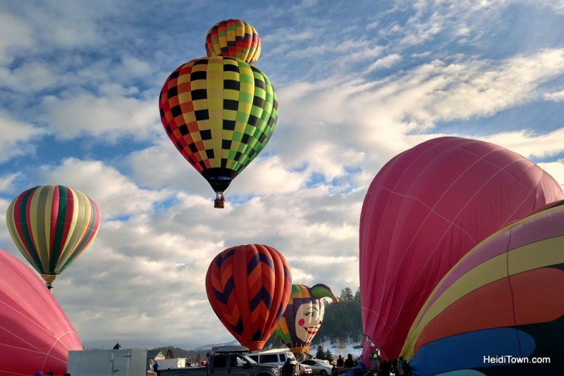 A Hot Air Balloon Ride in Pagosa Springs, Colorado with the Dickey Brothers