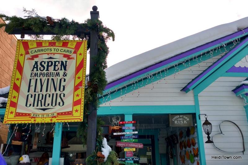 Surprise! You Can Afford to Shop in Aspen, Colorado. Emporium & Flying Circus 2. HeidiTown.com
