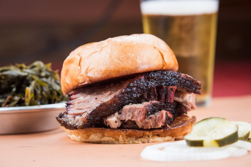 When Visiting Aspen, Colorado, Eat All the Things. HOme Team BBQ Brisket Sandwich. HeidiTown.com