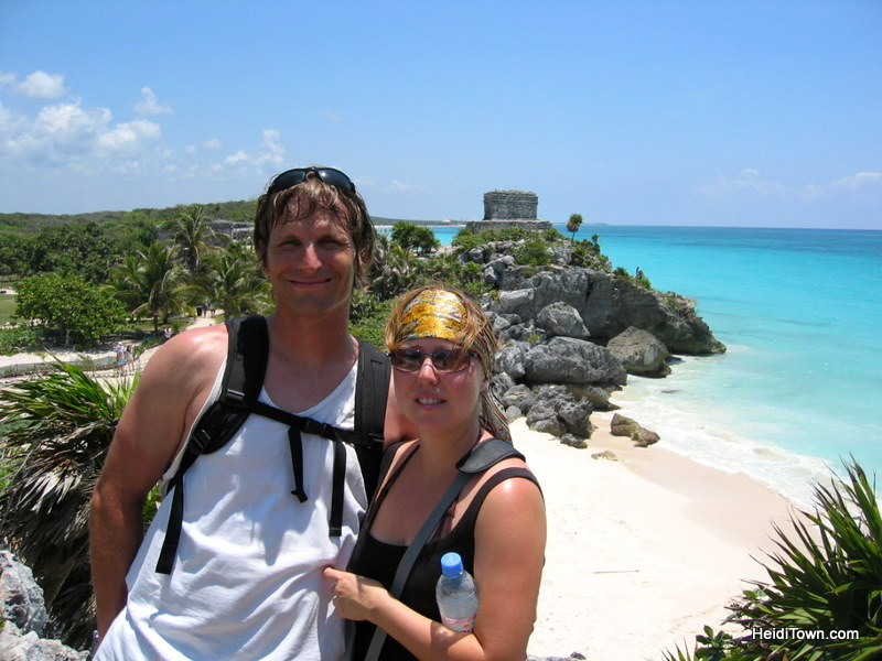 14 Anniversary Trips, Cozumel 2007. HeidiTown.com