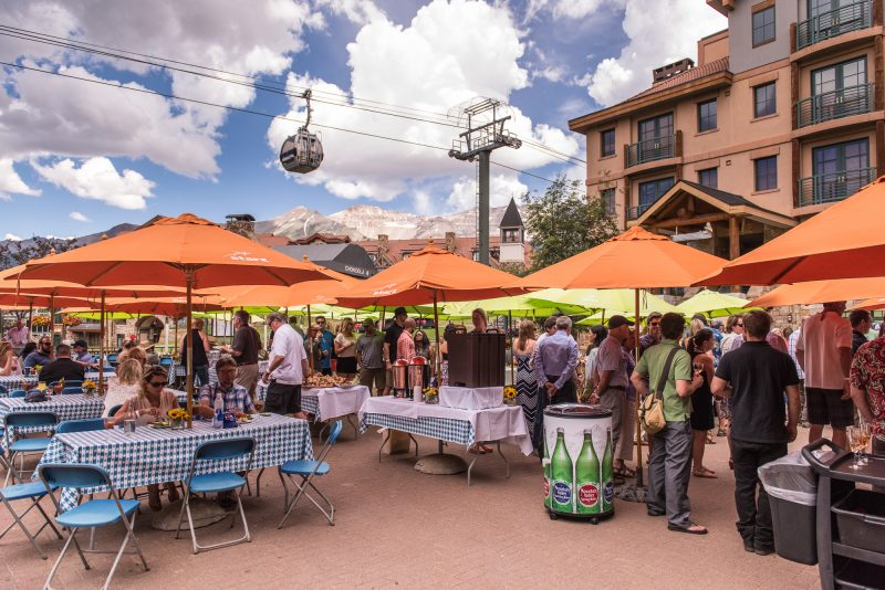 Colorado Wine Festivals, Telluride Wine Festival, courtesy shot.