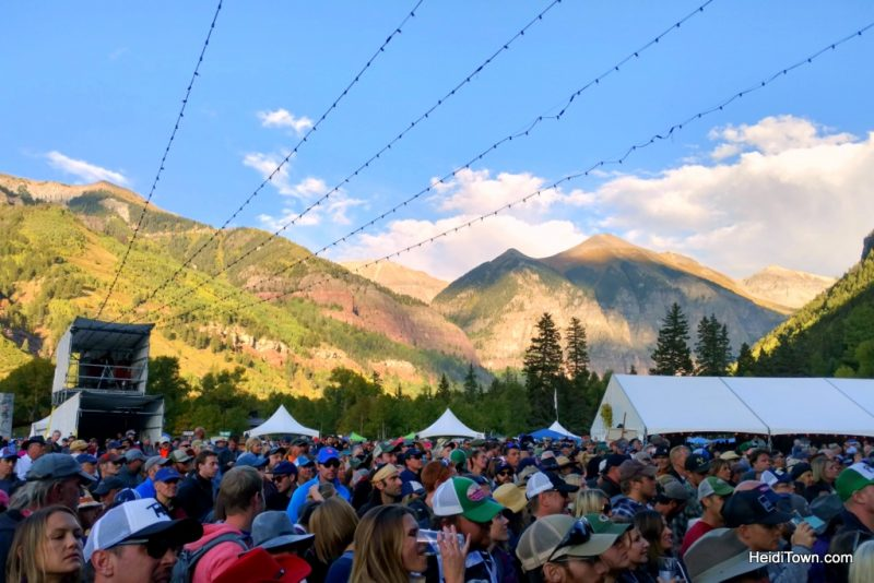 Festival Guide for Smart People. Telluride Blues & Brews view. HeidiTown.com