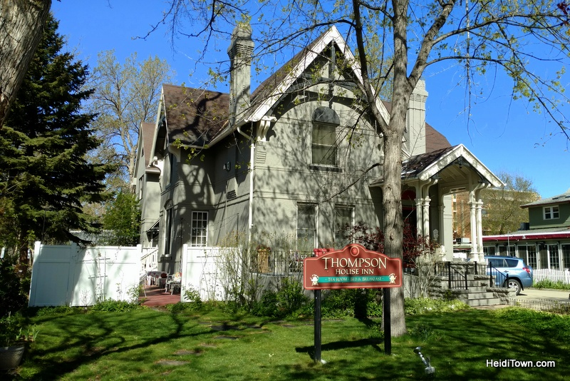 A Weekend Itinerary for Longmont, Colorado, HeidiTown.com. Thompson House Inn & Tea Room