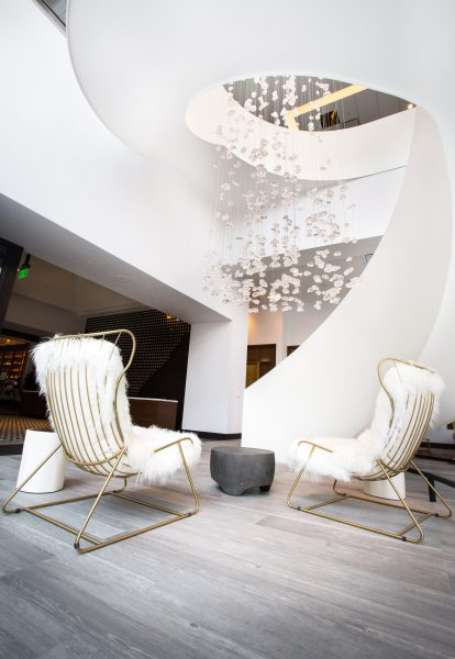 The Best Last Minutes Holiday Gifts in Colorado & Beyond, Le Meridien Staircase
