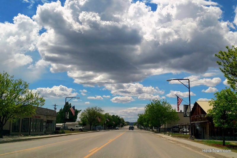 Colorado's Back Road Towns, Rangely, HeidiTown.com