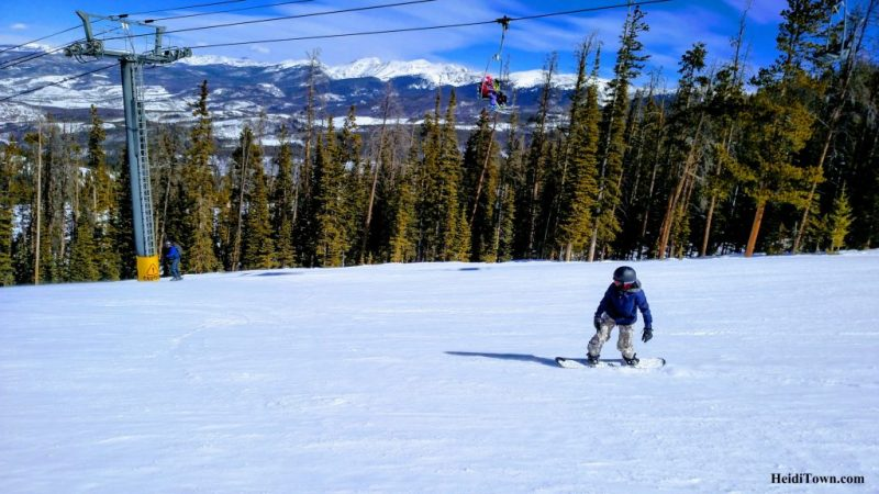 A Skier Becomes a Snowboarder on a Family Ski Weekend in Winter Park 3