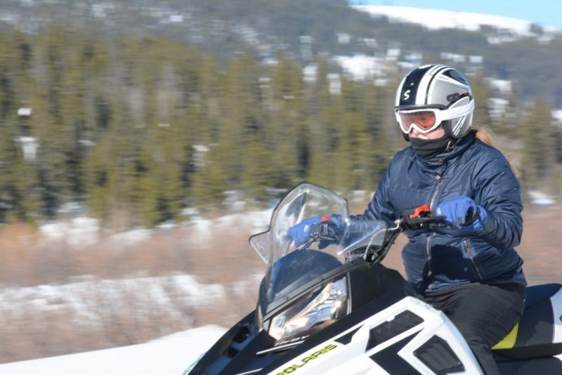 Snowmobiling in Leadville, Colorado It's Fun. HeidiTown.com Photo by White Mountain Snowmobile Tours 5