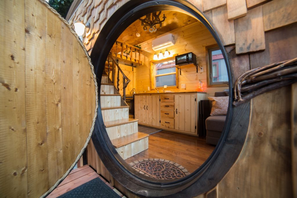 A Little Vacation in a Tiny Home in Lyons, Colorado