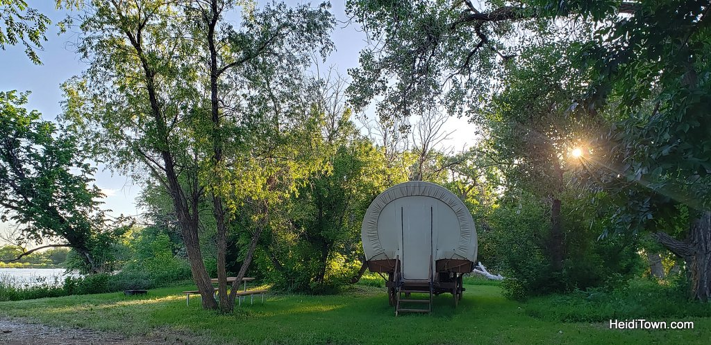 Glamping in Greeley, Colorado A Yurt Stay at Platte River Fort & Resort. HeidiTown (16)