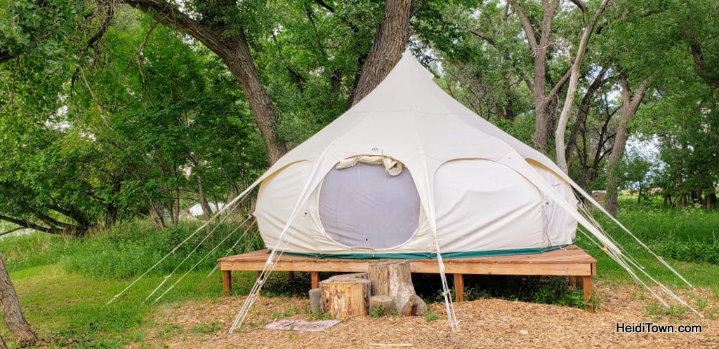 Glamping in Greeley, Colorado A Yurt Stay at Platte River Fort & Resort. HeidiTown (4)
