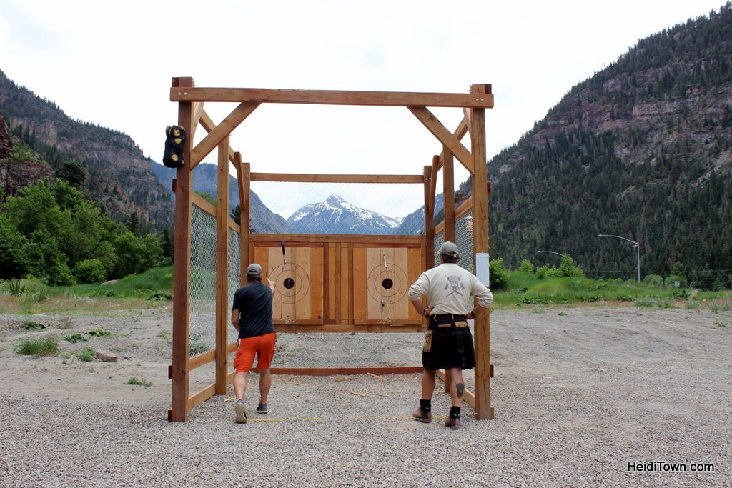 Connecting with My Ancestors Throwing Axes in Ouray, Colorado. HeidiTown (5)