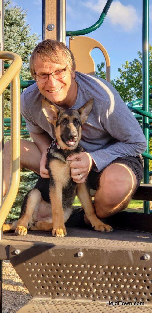 Meet Fritzi, the German Shepherd Colorado Dog & Head of Security. HeidiTown (7)