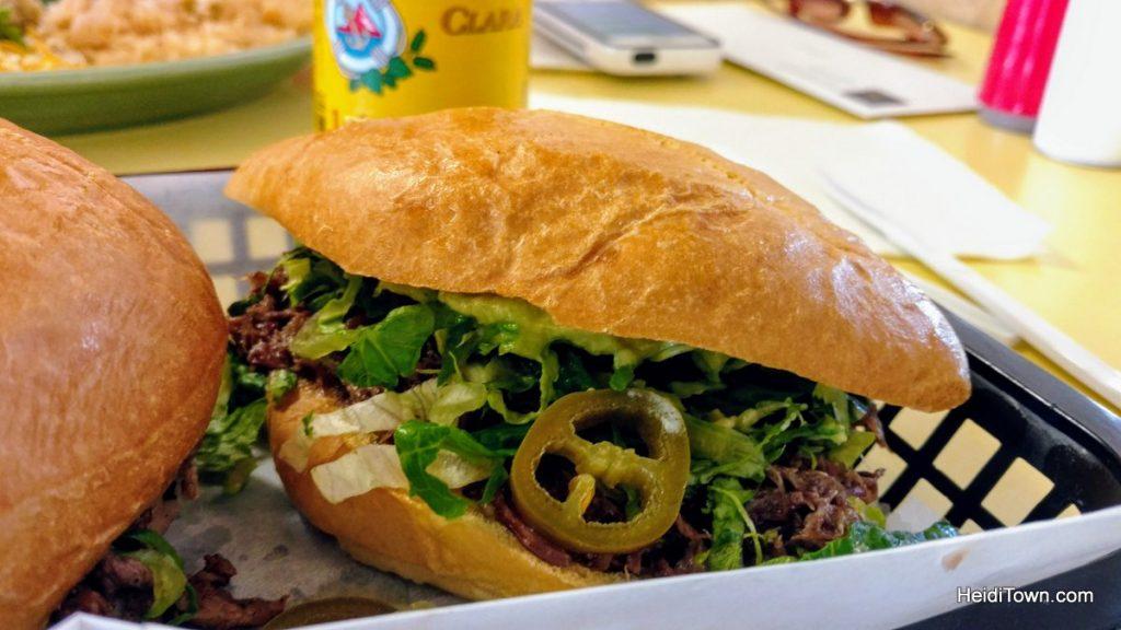 A Few of my Favorite Things, Loveland, Torta at Taqueria Rancho Alegre, HeidiTown.com