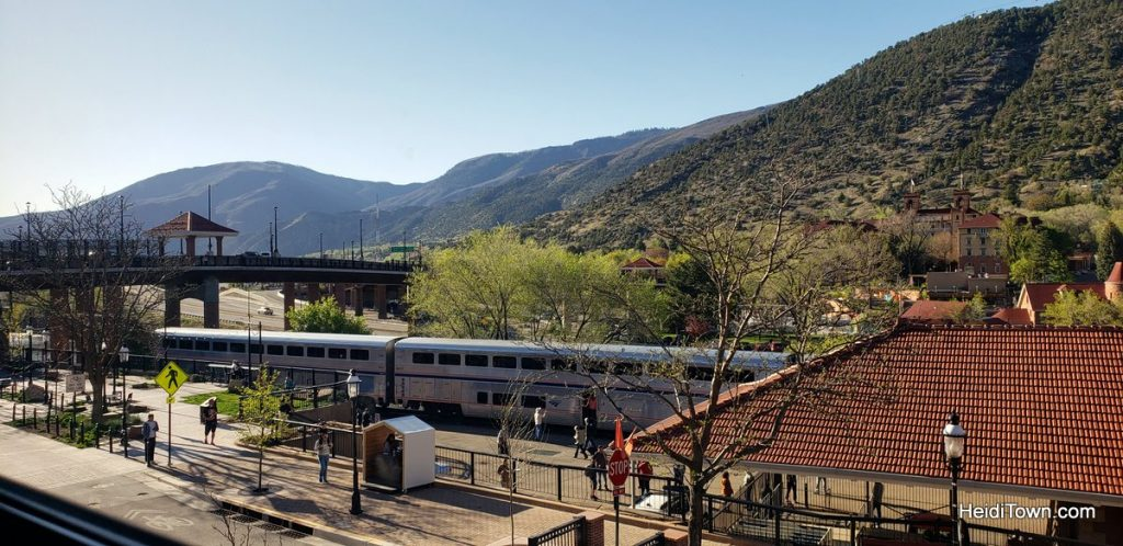 Glenwood Springs, Colorado Bring the Dog, Bring a Bathing Suit and Go. HeidiTown.com Amtrak