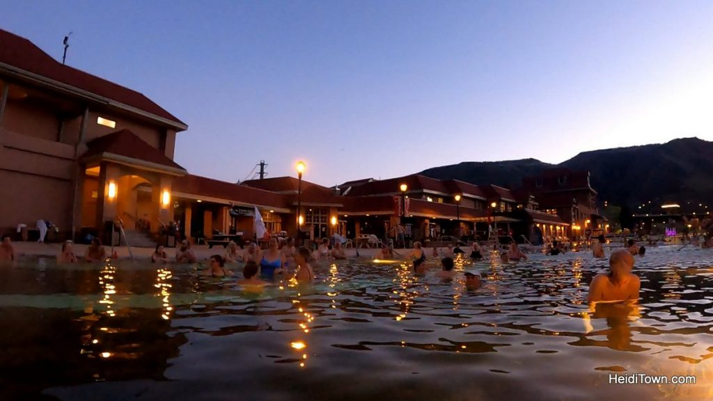 Glenwood Springs, Colorado Bring the Dog, Bring a Bathing Suit and Go. HeidiTown.com