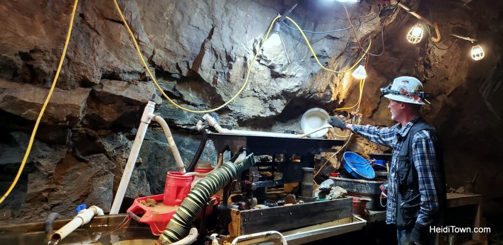 Mine Tour in Georgetown, Capital Prize Gold Mine. HeidiTown (2)