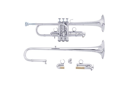 Bach ADE190 Stradivarius Artisan D / Eb Trumpet (Silver