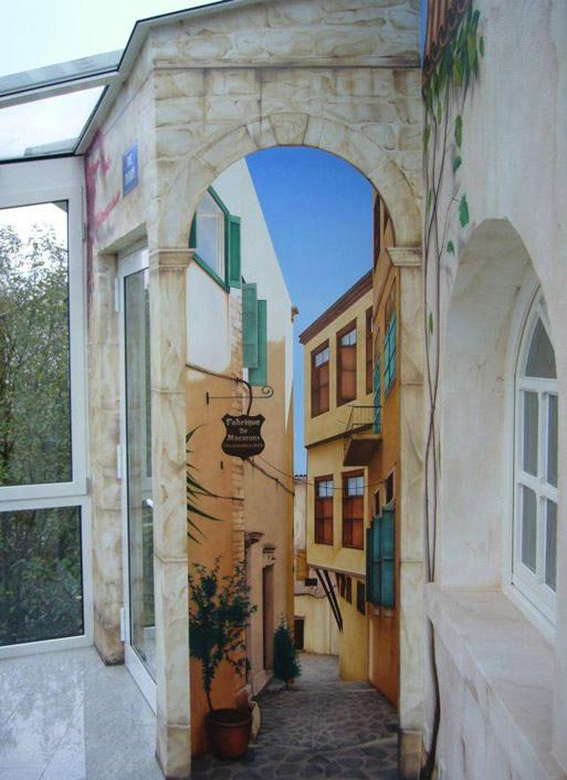 TrompeIoeil NRW Peintures Murales Saarland Fullservice Illusionsmalerei RheinlandPfalz