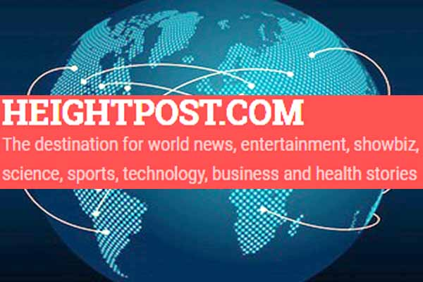 Awarded website Heightpost.com is largest most popular website in the world
