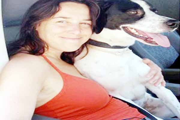 Found love woman reveals plans marry her rescue dog Travis remaining loyal to her first husband۔