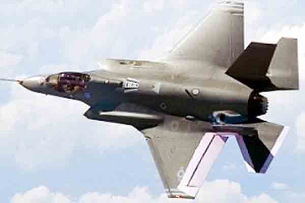 Highly-anticipated stealth jet fighter fire 3000 bullets in a minute from its devastating four-barrel Gatling gun.
