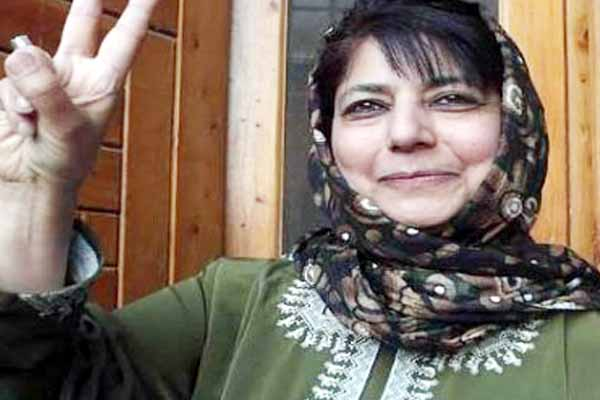 Mehbooba Mufti first woman chief minister most recognized Kashmiri politicians.