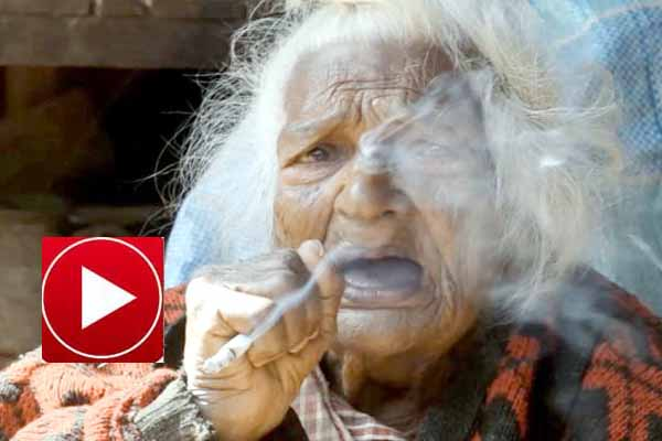 112 year old woman smokes 30 cigarettes everyday over 95 years.