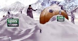Coldest highest battlefield Siachen glacier should be peace mountain 3