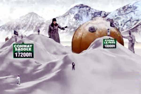 Coldest highest battlefield Siachen glacier should be peace mountain.