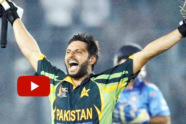 Watch Video BCCI warning Shahid Afridi comment over Kashmir.