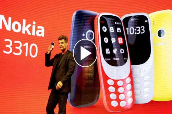 Popular Nokia 3310 long battery life updated feature version available at lowest price.