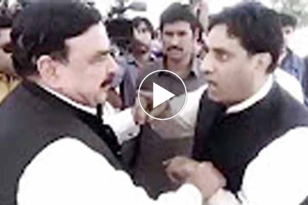 PML-N Japan faction leader stopped Sheikh Rasheed outside parliament demands return his 2.2 million.
