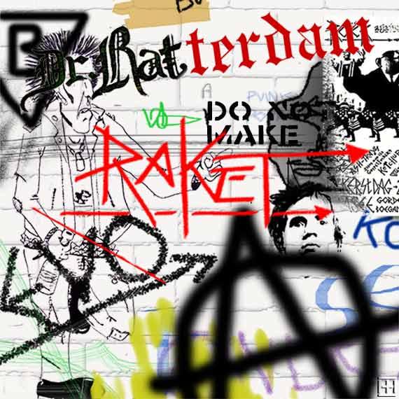 Punk Graffiti Rotterdam