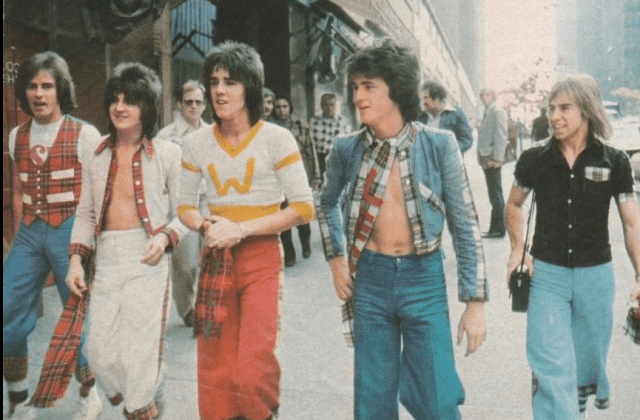 Bay City Rollers 70er Jahre Band