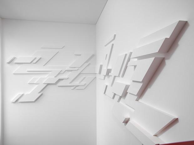 HZ, o.T., 2011, Beton auf Wand, Privatsammlung Hamburg