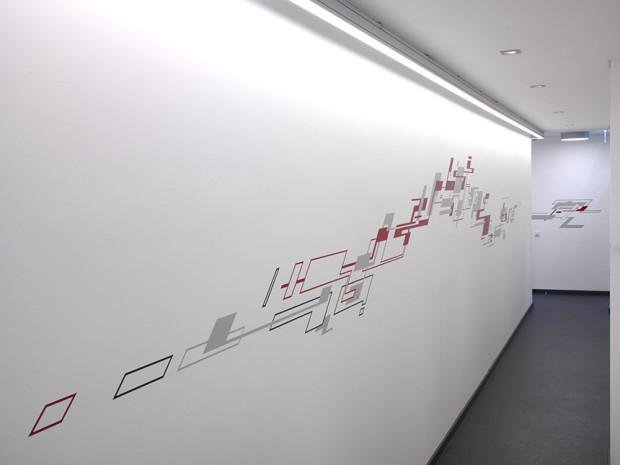 HZ, o.T., 2011, Sprühlack auf Wand, Privatsammlung Hamburg