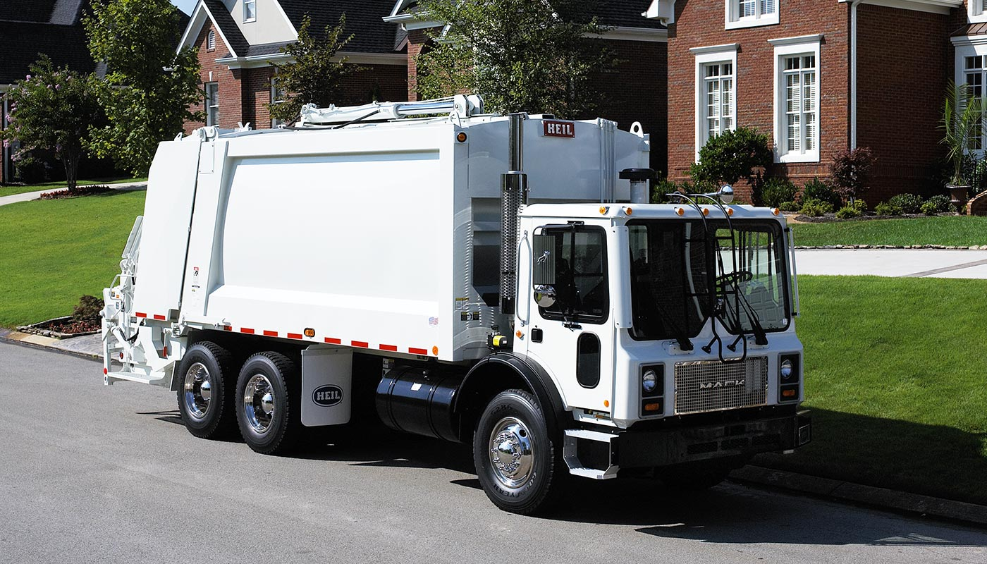 hight resolution of durapack 5000 rear load garbage truck bodies