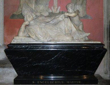 Engelbertus-Schrein im Dom< in Köln